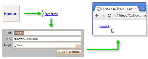 New Hyperlink Element